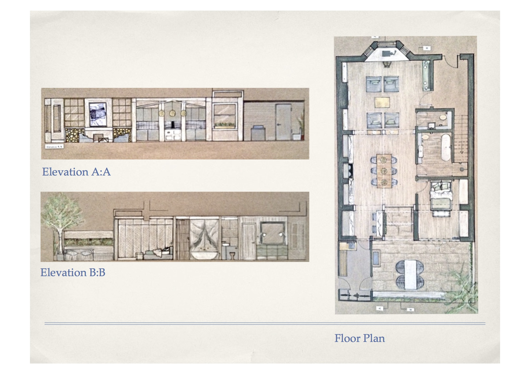Victorian Townhouse Conversion Concept Krista Wittmann